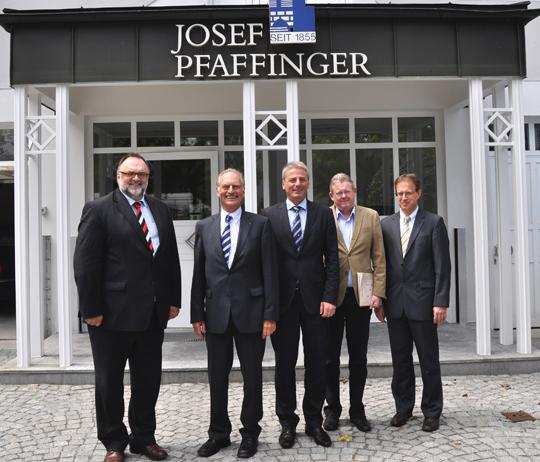 Bauunternehmen Passau betriebsbesichtigung bei josef pfaffinger bauunternehmung gmbh passau